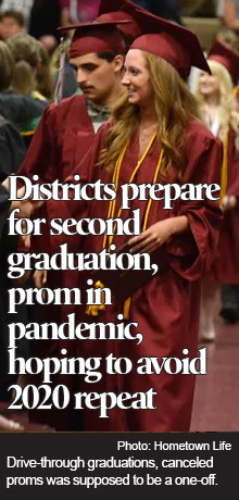 Districts prepare for second graduation, prom in pandemic, hoping to avoid 2020 repeat