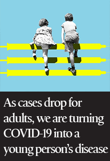 We Are Turning COVID-19 Into a Young Person's Disease