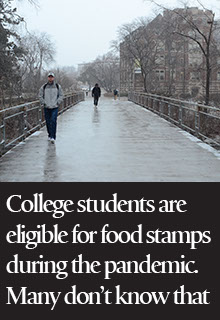 More college students are eligible for food stamps during the pandemic — but many don't know that